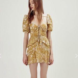 NWT For Love and Lemons Cosmo mini dress